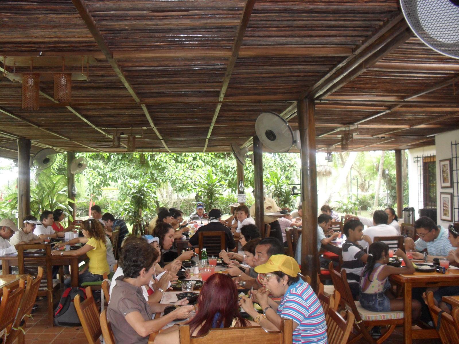 Restaurante el Aceituno Parque Nacional del Arroz Colombia