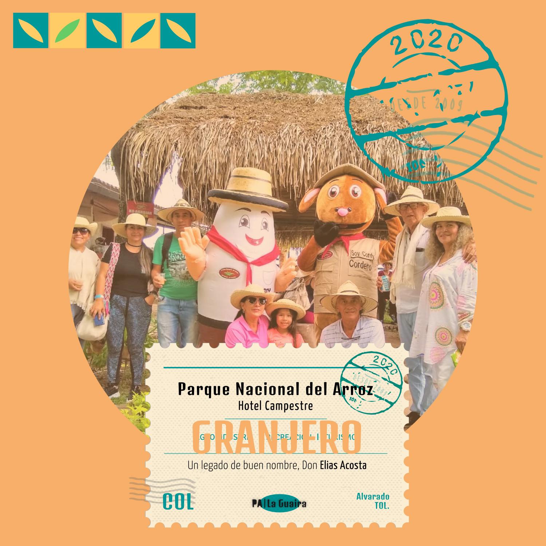 Pasaporte Granjero Parque Nacional del Arroz