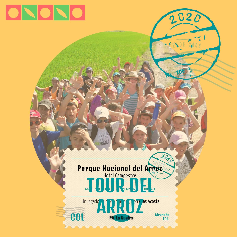 Tour del Arroz Parque Nacional del Arroz